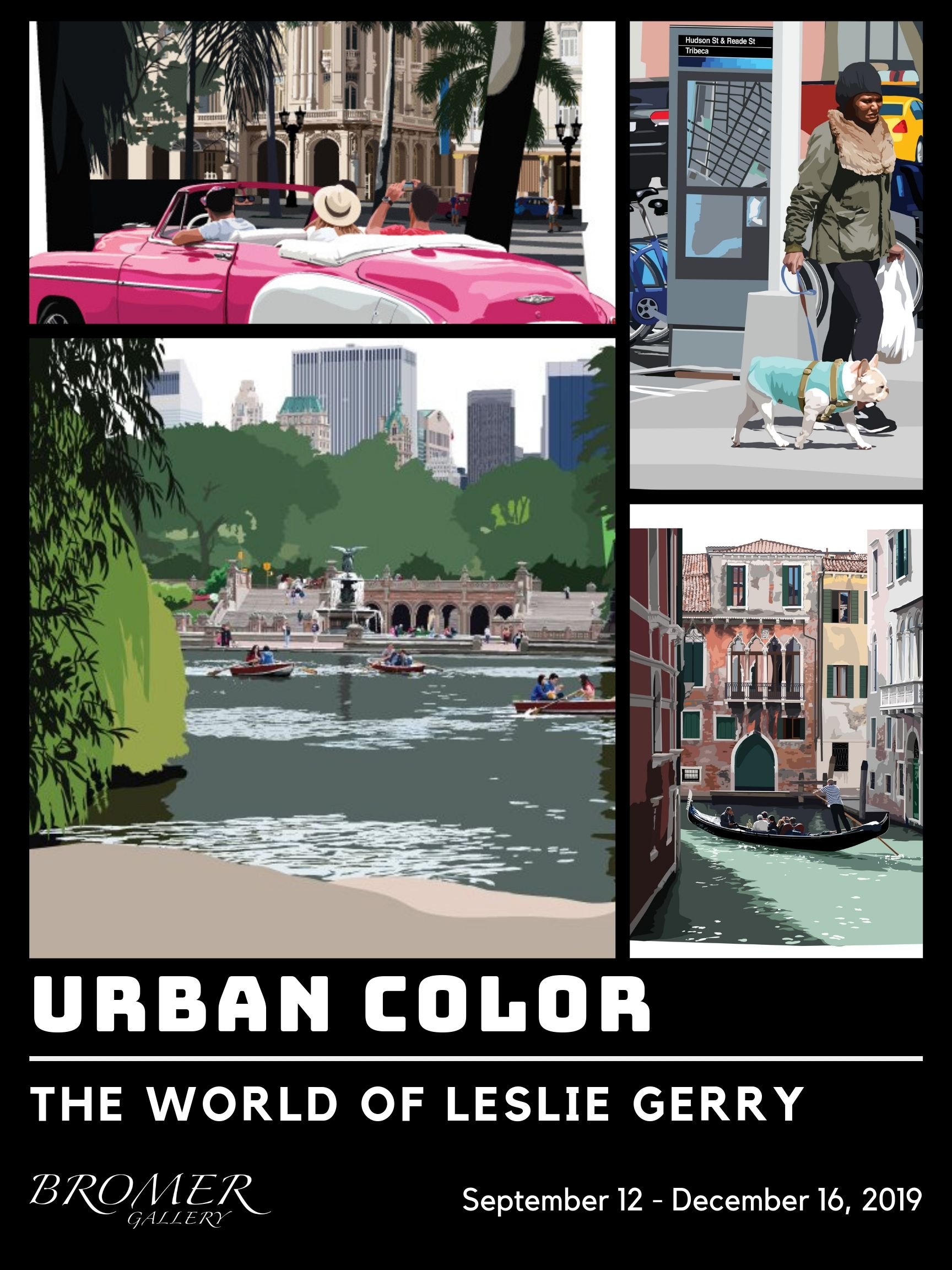 Urban Color: The World of Leslie Gerry